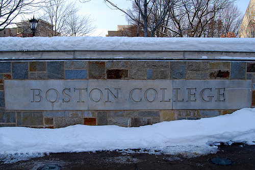 Boston College St. Ignatius Gate