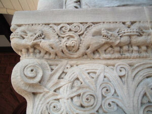 Austin Hall column detail