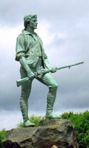 Statue of a Minuteman