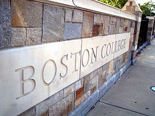 Boston College Ignatius Gate