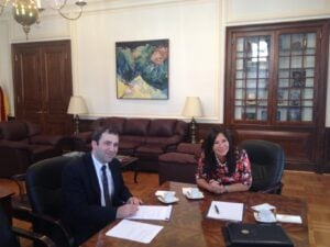 Interview with Ambassador Cely