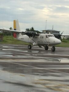 Ecuadoran Air Force plane