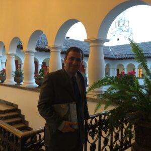 At the Carondolet Palace