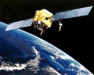 GPS Satellite In Orbit