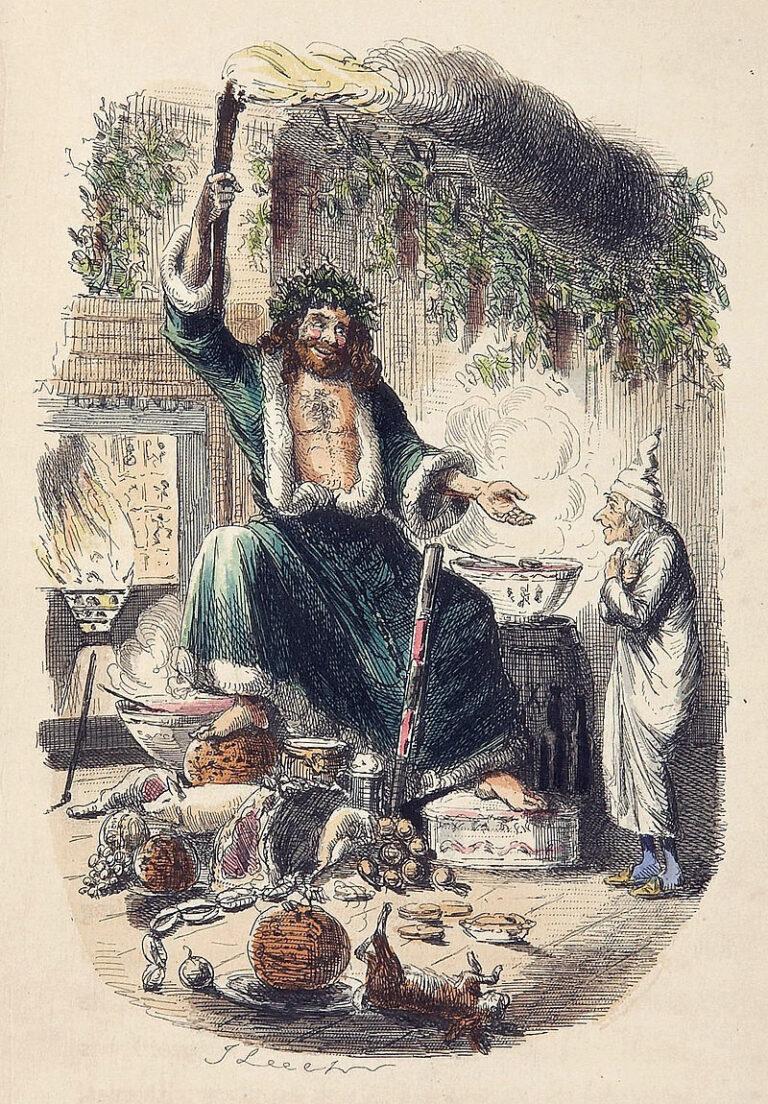 Scrooge's Third Visitor