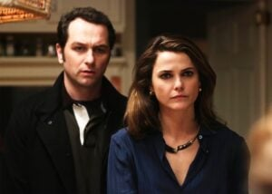Matthew Rhys and Keri Russell in The Americans