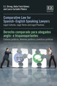 Cover of Comparative Law for Spanish-English Speaking Lawyers