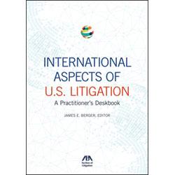 Cover of International Aspects of U.S. Litigation