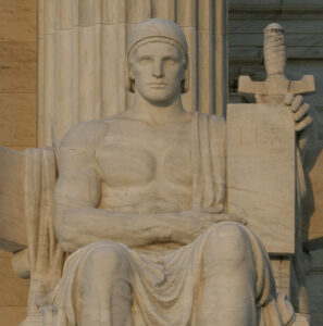 Statue of the Authority of the Law