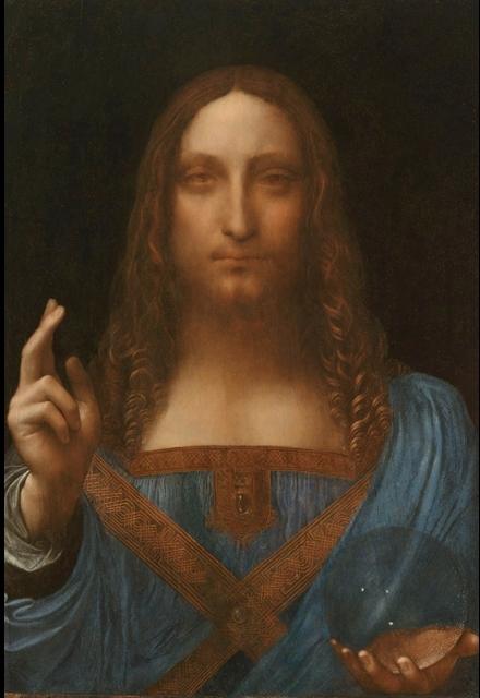Leonardo's Christ as Salvator Mundi
