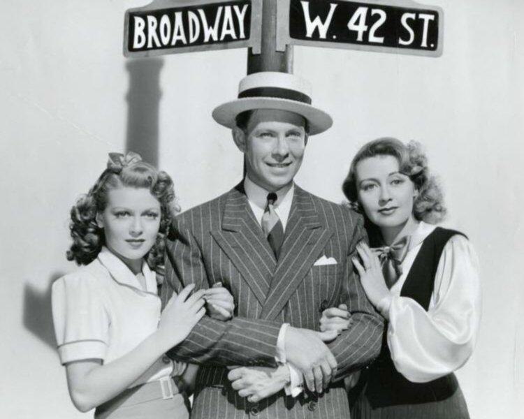 Lana Turner, George Murphy, and Joan Blondell
