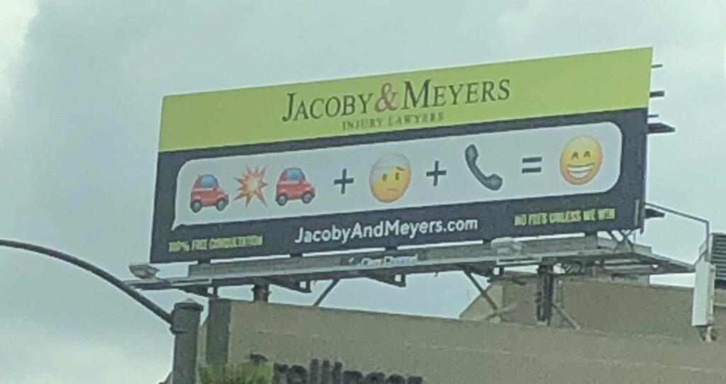 Jacoby & Meyers billboard