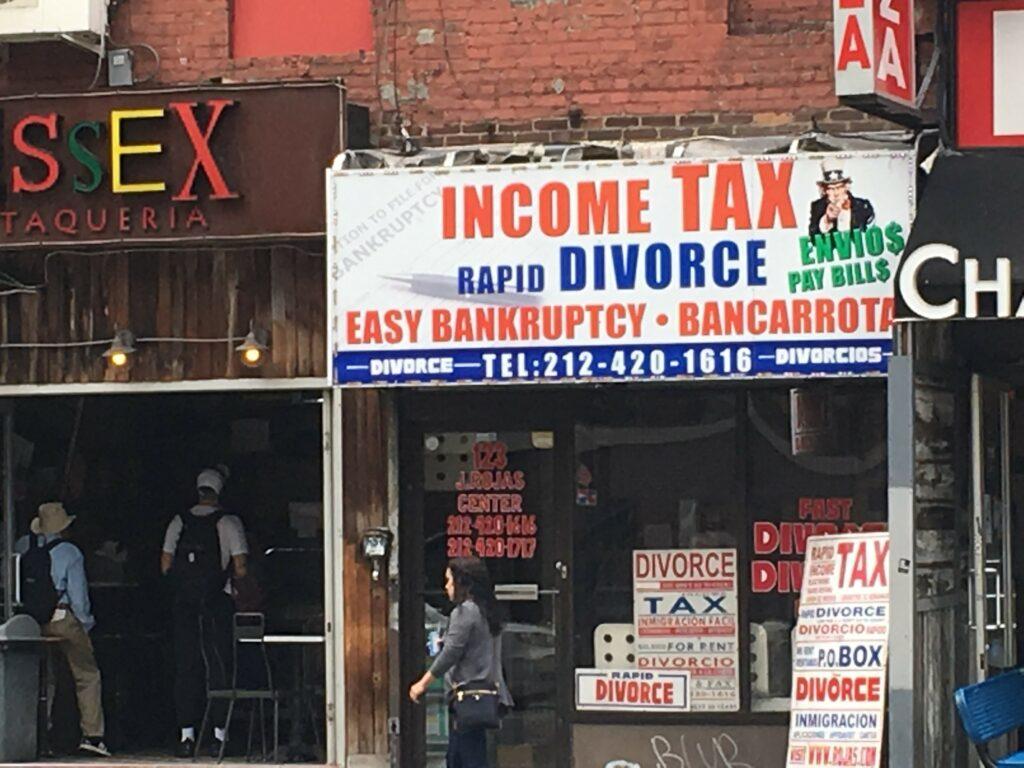 New York lawyer ad