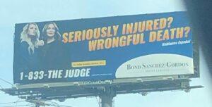 Lawyer billboard