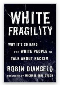 The cover of White Fragility